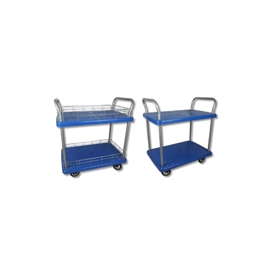 Arrow Warehousing 2 Tier - Hand Platform Trolley Cart