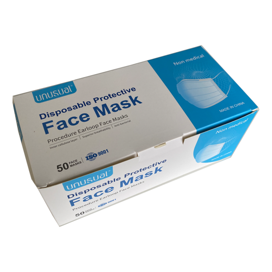Disposable Protective Face Mask (50pcs)