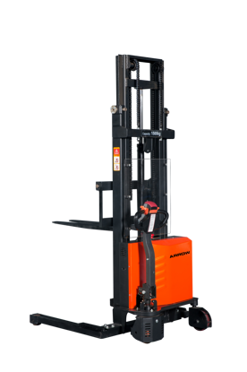 Picture of Self Propelled Electric Lift  Straddle Stacker  1 Ton / 3.3m